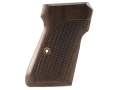 Product detail of Hogue Fancy Hardwood Grips Walther PP, PPK/S Checkered Rosewood