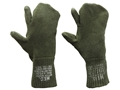 Product detail of Military Surplus Trigger Finger Mitten Inserts Wool and Nylon Olive Drab