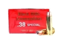 Product detail of Black Hills Ammunition 38 Special +P 125 Grain Jacketed Hollow Point Box of 50