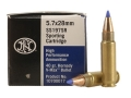 Product detail of FN SS197SR Ammunition 5.7x28mm FN 40 Grain Hornady V-Max