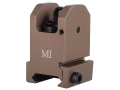 Product detail of Midwest Industries Fixed Rear Sight AR-15 Flat-Top Aluminum
