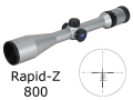 Product detail of Zeiss MC Conquest Rifle Scope 4.5-14x 44mm Side Focus Rapid Z 800 Reticle Silver
