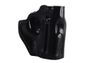 Product detail of Galco Stinger Oustide the Waistband Holster Right Hand Kimber Solo Carry Leather Black