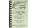 "Product detail of Loadbooks USA ""Thompson Center Contender Volume 2"" Reloading Manual Calibers 30 M1 Carbine to 45-70 Government"