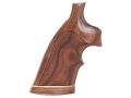 Product detail of Hogue Fancy Hardwood Conversion Grips with Accent Stripe and Top Fing...