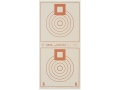 Product detail of National Target International Bench Rest Shooters Target IBS 300 YD Bench Rest Paper Package of 100