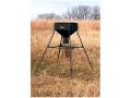 Product detail of Big Game 250 lb Standing Game Feeder Steel Black