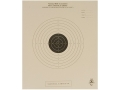 Product detail of NRA Official International Pistol Target B-11 50' Slow Fire Paper Package of 100