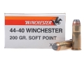 Product detail of Winchester Super-X Ammunition 44-40 WCF 200 Grain Soft Point