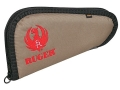 Product detail of Ruger Embroidered Pistol Gun Case Tan