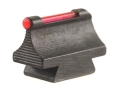 "Product detail of Williams Fire Sight Rifle Bead .375"" Height, .250"" Width Steel Blue 3/32"" Fiber Optic Red"