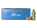 Thumbnail Image: Product detail of Black Hills Remanufactured Ammunition 40 S&W 180 ...