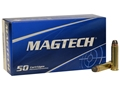 Product detail of Magtech Sport Ammunition 357 Magnum 158 Grain Semi-Jacketed Soft Point Nickel Plated Brass