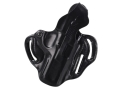 Product detail of DeSantis Thumb Break Scabbard Belt Holster Right Hand Ruger KP345PR Leather Black