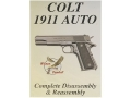 "Product detail of Wilson Combat Video ""Colt 1911 Auto Complete Disassembly & Reassembly"" DVD"