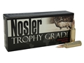 Product detail of Nosler Trophy Grade Ammunition 325 Winchester Short Magnum (WSM) 200 Grain AccuBond Box of 20