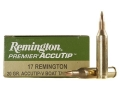 Product detail of Remington Premier Varmint Ammunition 17 Remington 20 Grain AccuTip Boat Tail Box of 20