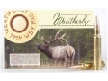 Product detail of Weatherby Ammunition 7mm Weatherby Magnum 154 Grain Hornady Spire Point Box of 20