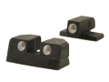 Product detail of Meprolight Tru-Dot Sight Set Sig P220, P225, P226, P228 Steel Blue Tritium Green Front