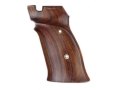 Product detail of Hogue Fancy Hardwood Grips S&W 41 Right Hand Thumb Rest