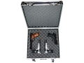 "Product detail of Do-All Bandito Vaquero 4 Pistol Gun Case 18"" x 13"" x 7-1/2"" Aluminum Black"