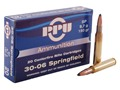 Product detail of Prvi Partizan Ammunition 30-06 Springfield 150 Grain Soft Point Box of 20