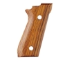 Product detail of Hogue Fancy Hardwood Grips Taurus PT99 with Frame Mounted Safety Cocobolo