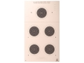 Product detail of NRA Official Smallbore Rifle Target A-27 50-Yard Prone Paper Package of 100