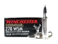Product detail of Winchester Supreme Ammunition 270 Winchester Short Magnum (WSM) 150 G...