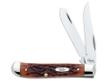 Product detail of Case Mini Trapper Folding Knife Clip and Spey Stainless Steel Blade