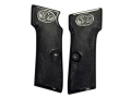 Product detail of Vintage Gun Grips Walther #6 9mm Luger Polymer Black