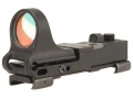 Product detail of C-More Railway Reflex Sight 8 MOA Red Dot with Click Switch and Integral Picatinny Mount Polymer Matte