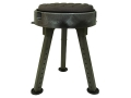 Product detail of Quake Bull Seat All-Terrain Hunting Blind Stool/Chair Polymer Green
