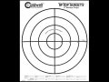 "Product detail of Caldwell Tip Top Target 8"" Bullseye Package of 25"