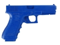 Product detail of BlueGuns Firearm Simulator Glock 17, 22, 31 Polyurethane Blue