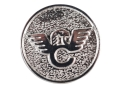 Product detail of Wilson Combat Combat Grip Medallion Package of 2 Sterling Silver