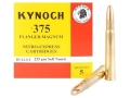 Product detail of Kynoch Ammunition 375 Flanged Magnum 235 Grain Woodleigh Weldcore Soft Point Box of 5
