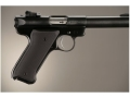 Product detail of Hogue Extreme Series Grip Ruger Mark II, Mark III Checkered Aluminum Matte Black
