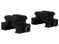 "Product detail of Remington Picatinny-Style Mini Riser Mount 3/4"" Long 1/2"" Tall Aluminum Black Package of 2"