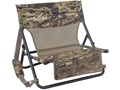 Product detail of ALPS Outdoorz NWTF Turkey Chair MC Steel Frame Nylon Seat and Back Mossy Oak Break-Up Infinity Camo