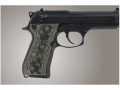Product detail of Hogue Extreme Series Grip Beretta 92F, 92FS, 92SB, 96, M9 G-10 OD Green Camo