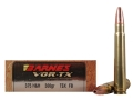 Product detail of Barnes VOR-TX Safari Ammunition 375 H&H Magnum 300 Grain Triple-Shock X Bullet Hollow Point Flat Base Box of 20
