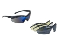Product detail of Peltor Arsenal Tac Pac Shooting Glasses Clear, Amber, Mirror Blue and Gray Lenses