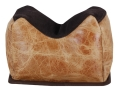 Product detail of BenchMaster American Bison Small Front Shooting Rest Bag Bison Leather Filled