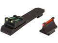Product detail of TRUGLO Lever Action Sight Set Winchester 94 Rifle with Ramped Front Sight (Except Carbine), Henry Golden Boy 22 LR Steel Fiber Optic Green