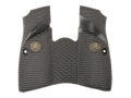Product detail of Pachmayr Signature Grips with Backstrap Browning Hi-Power Combat-Style Rubber Black