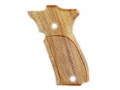 Product detail of Hogue Fancy Hardwood Grips S&W 39, 52, 439, 539 and 639 Checkered