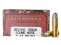 Product detail of Ultramax Cowboy Action Ammunition 357 Magnum 158 Grain Lead Flat Nose...