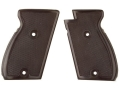 Product detail of Vintage Gun Grips Astra New Constable with 2 Mounting Holes Polymer Black