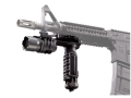 Product detail of Surefire M900A Vertical Foregrip Light Xenon with Blue LED Bulbs and A.R.M.S. Lever Mount Aluminum and Composite Gray Hard Anodized